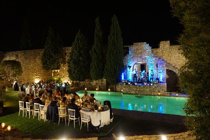 South France Wedding Band